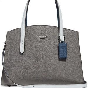 Rare Coach Charlie carryall colorblock